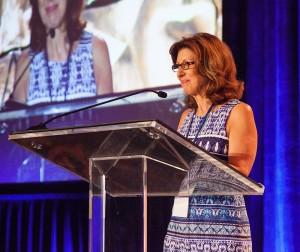 LaVaughn Palma-Davis at podium