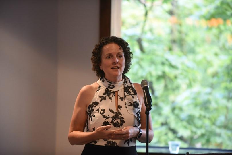 Karen Moseley speaking at HERO Forum19