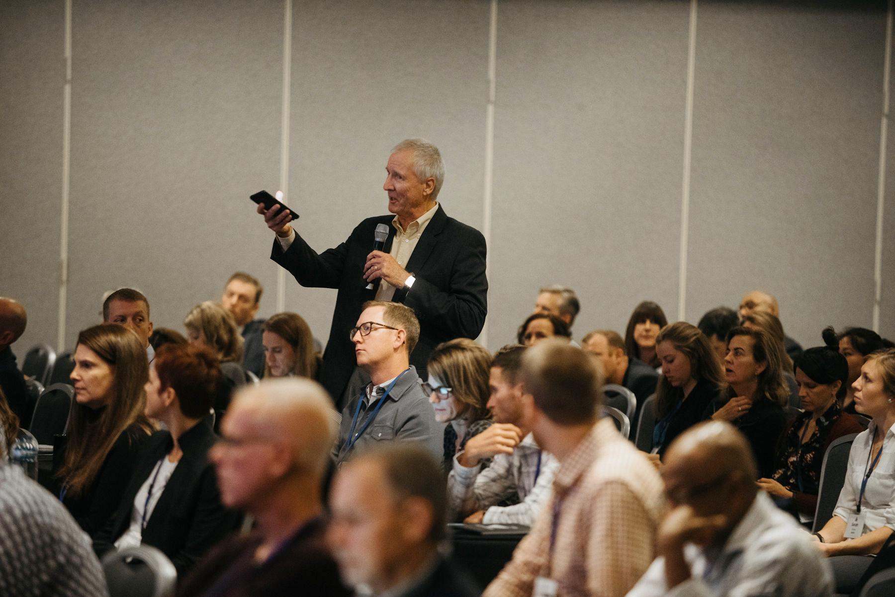 Paul Terry, HERO, speaks at HERO Forum