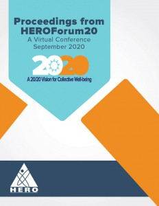 HERO Forum20 Proceedings cover